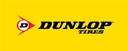 Dunlop logga, varumärke prodob använder.