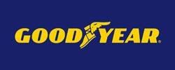 Good Year logga, varumärke prodob använder.